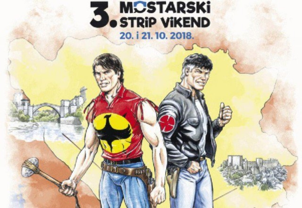 Mostar po treći put domaćin Festivala stripa
